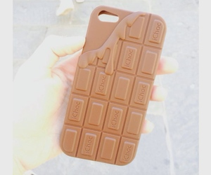 chocolate, cover, and iphone image