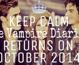 october and the vampire diaries image