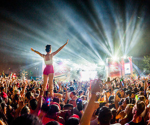 crowd, stage, and fest life image