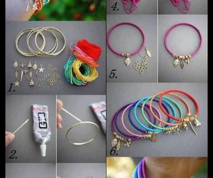 bracelets, diy, and makeyourown image