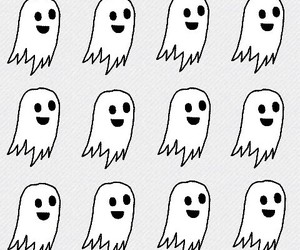 ghost, wallpaper, and white image