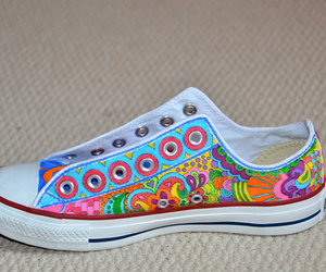 colorful, converse, and girly image