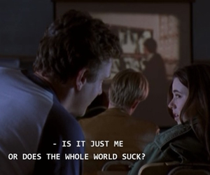 quotes, freaks and geeks, and grunge image