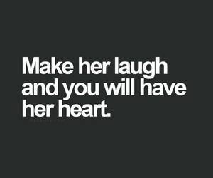 love, heart, and laugh image