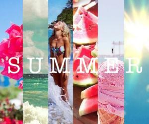 summer, beach, and sun image
