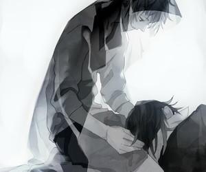 anime, art, and fushimi saruhiko image