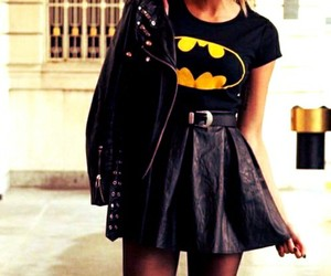 fashion, outfit, and batman image