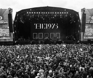 the 1975, concert, and band image