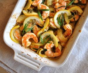 food, shrimp, and shrimps image