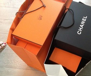 chanel, hermes, and bags image