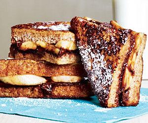 breakfast, chocolate, and sweet image