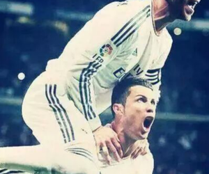 cristiano, sergio, and madridistas image