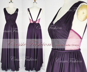 bridesmaid, evening, and gown image