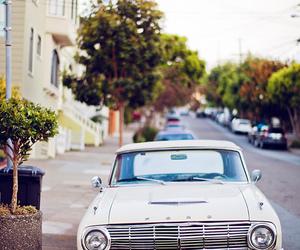 car, vintage, and street image