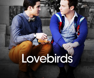 couple, blaine anderson, and gay image