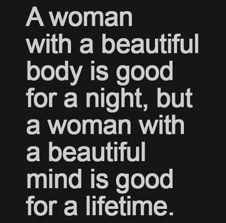 Nice words for a woman
