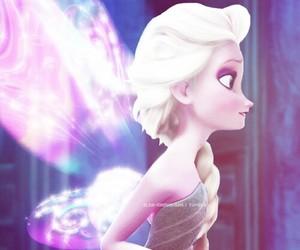 fairy, Queen, and elsa image