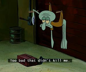spongebob, squidward, and funny image