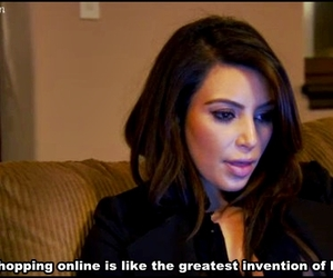 kim kardashian, shopping, and online image