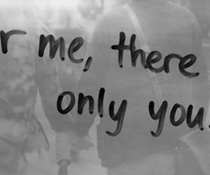 you, only, and quote image