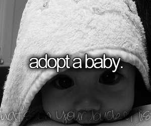 baby, before i die, and bucket list image