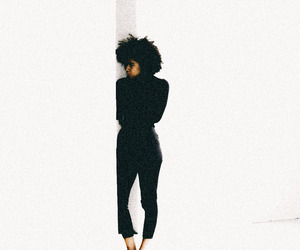 Afro, curls, and black girls image