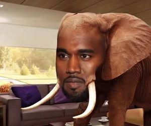 best shit ever, elephant, and kanye west image