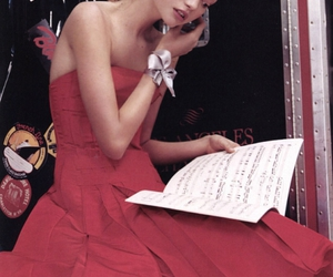 red, girl, and Gemma Ward image