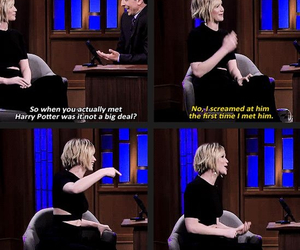 harry potter, Jennifer Lawrence, and funny image