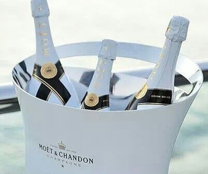 drink, white, and moet & chandon image