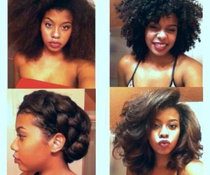 Afro, braid, and hair image