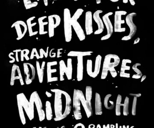 adventure, conversations, and kiss image