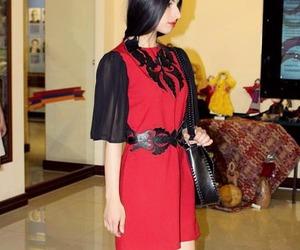 armenia, leather bag, and ethnic dress image
