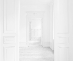 white, room, and interior image