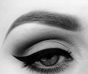 black, wing, and eye image