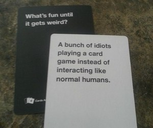 funny and cards against humanity image