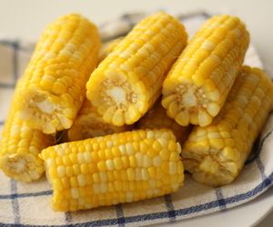 corn, summer, and yellow image
