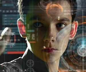 asa butterfield and ender image