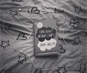 book, hipster, and the fault in our stars image