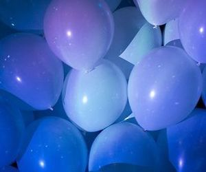 girly, balloons, and party image