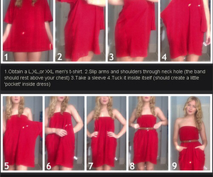 dress, diy, and crafts image