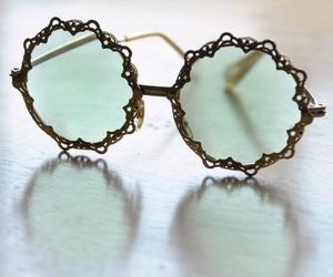 hipster vintage glasses and nanyperez image