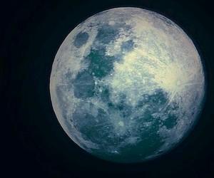 blue, sad, and moon image