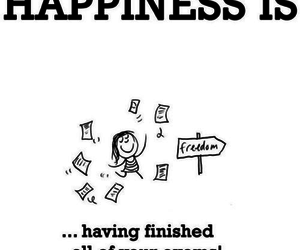 exam, happiness, and freedom image