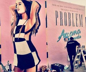 problem, ariana grande, and art image