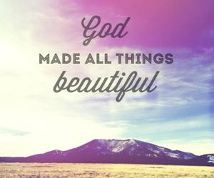 beautiful, god, and love image