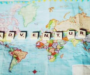 adventure and word image