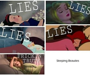 disney, phrases, and sleep image