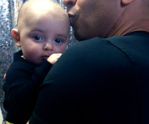 Vin Diesel and baby image