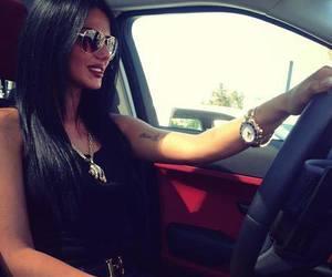 morena taraku, women & cars, and black cars image